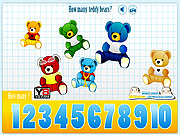 Kids Counting Teddy Bears لعبة