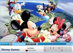Mickey Mouse Find the Numbers game