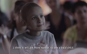 GRAACC Commercial: Cartoon Characters Go Bald
