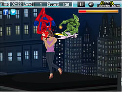 Amazing Spiderman Kiss game