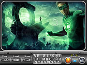 Green Lantern Find the Alphabets game