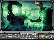 Jogar jogo grátis Green Lantern Find the Alphabets