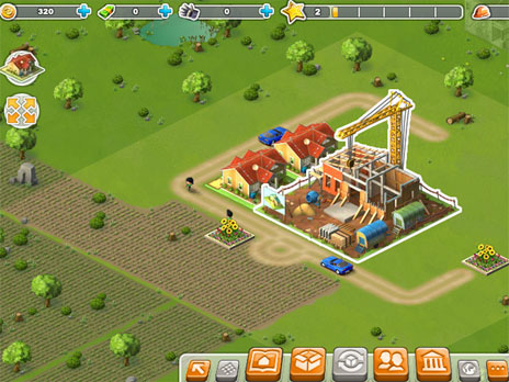 Rising Cities game