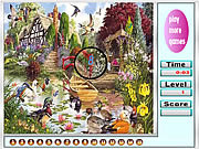 Garden and animal hidden numbers game