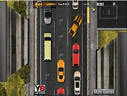 Stuck in traffic game