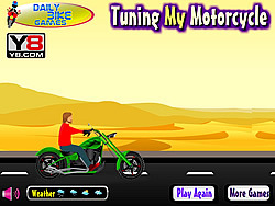Tuning My Motorcycle game