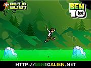 Ben 10 Ice Jump لعبة