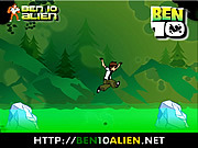 Ben 10 Ice Jump game