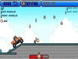 Orange Motorbike Racing game
