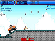 Orange Motorbike Racing game