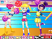 Juega al juego gratis Pretty Cheerful Cheerleaders