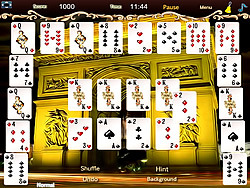 Crescent Solitaire Game game