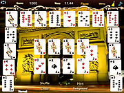 Crescent Solitaire Game لعبة