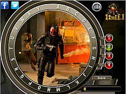 Dredd - Find the Alphabets game