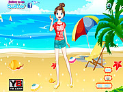 Exotic Sun Dressup game