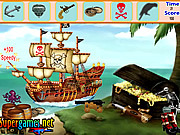 Jucați jocuri gratuite Pirate Island Hidden Objects