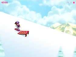 Snow Board Betty game