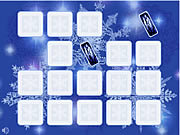 Snowflakes Fast Image game