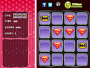 Superman Logo - Memory Match game