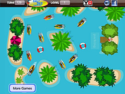 High Speed Boat Parking game