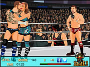 Kissing Wrestlers game