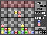 Juega al juego gratis Skull Skull Fall