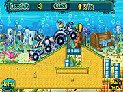 SpongeBob Tractor game