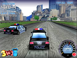 Police Test Driver game