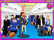 Air Hostess Kissing game