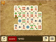 Paper Mahjong game