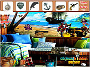 Pirate Room Hidden Objects game