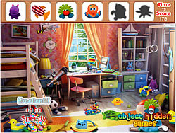 Colorful Bedrrom Hidden Objects game