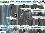 Penguin Adventure game