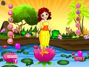 Lotus Girl Dressup