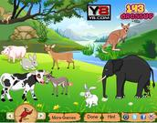 Juega al juego gratis Jungle Animals Decor