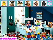 Juega al juego gratis Kids Plush Toy Hidden Objects