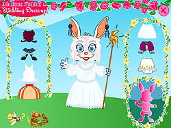 Madison Rabbit: Wedding Dress up game