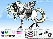 Mane Attraction Pony Dress up لعبة