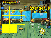 SpongeBob Tic Tac Toe game