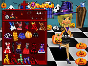 Juega al juego gratis Halloween Doli Party