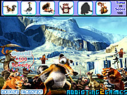 Ice Age Hidden Objects game