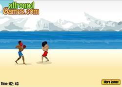 Beach Fighting game