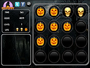 Halloween Memory Tiles game