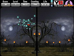 Halloween Spot The Difference game