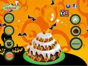 Halloween Big Cake Decor