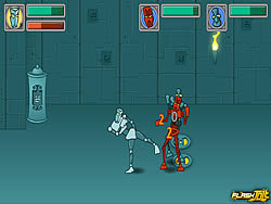 Tribot Fighter game