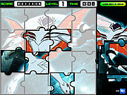 Ben 10 Alien Jigsaw game