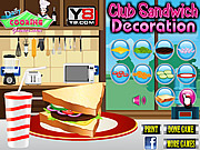 Club Sandwich Decoration game