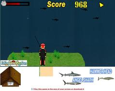 Shark Fishing game