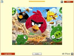Angry Birds - Jigsaw game